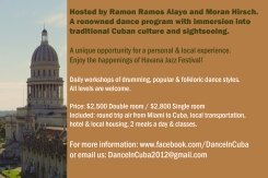 Dance in Cuba Flyer back