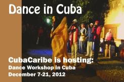 Dance in Cuba Flyer